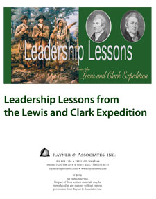 Leader Lessons from the Lewis and Clark Expedition cover
